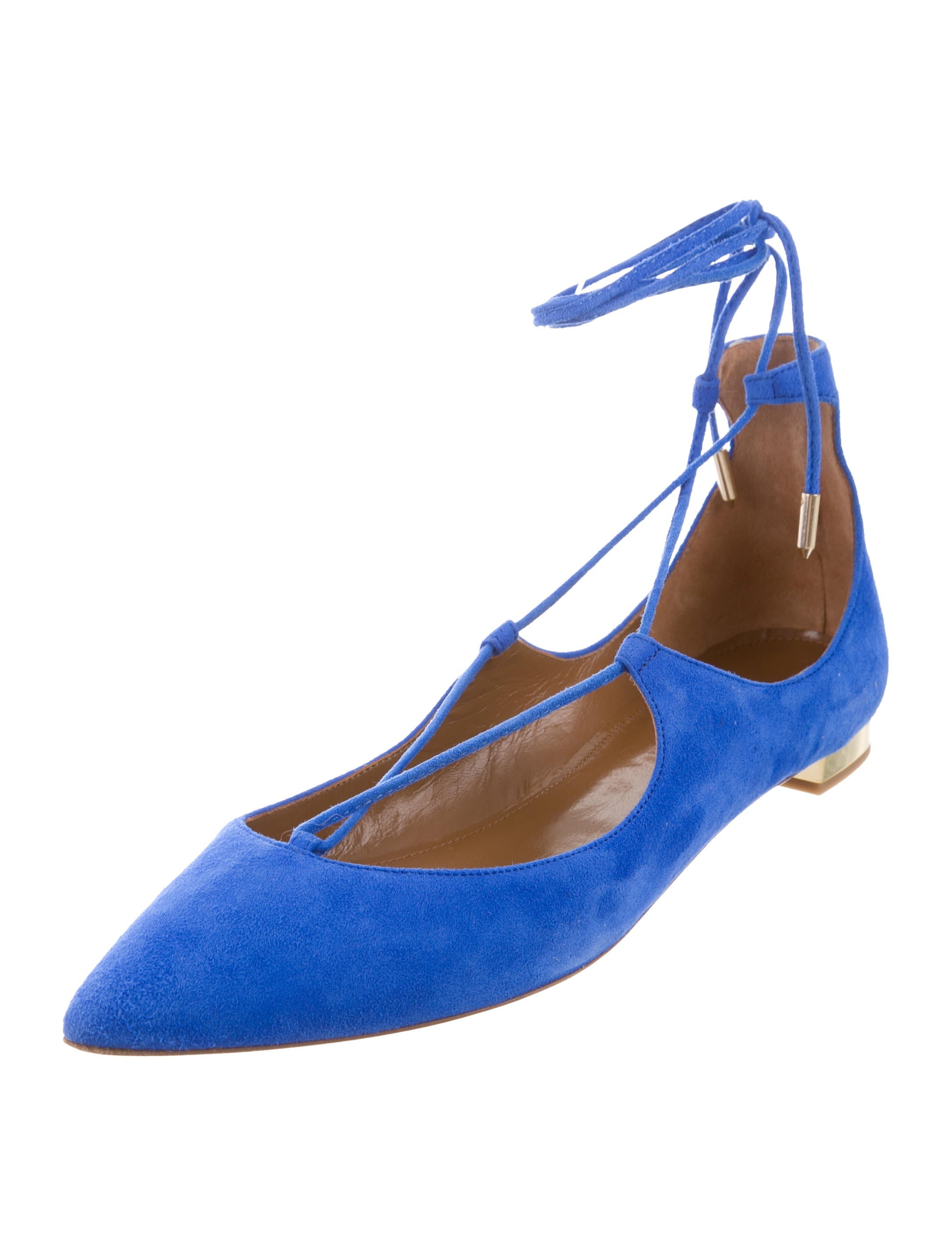 Aquatalia Christy Lace-Up Flats w/ Tags shipping discount sale cheap sale classic clearance wiki with credit card cheap online best prices cheap price jcXBnZ