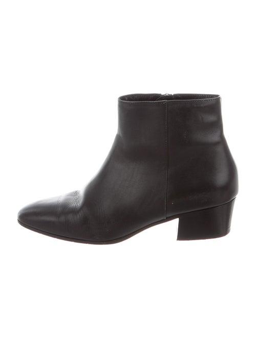 Aquatalia Leather Boots Black