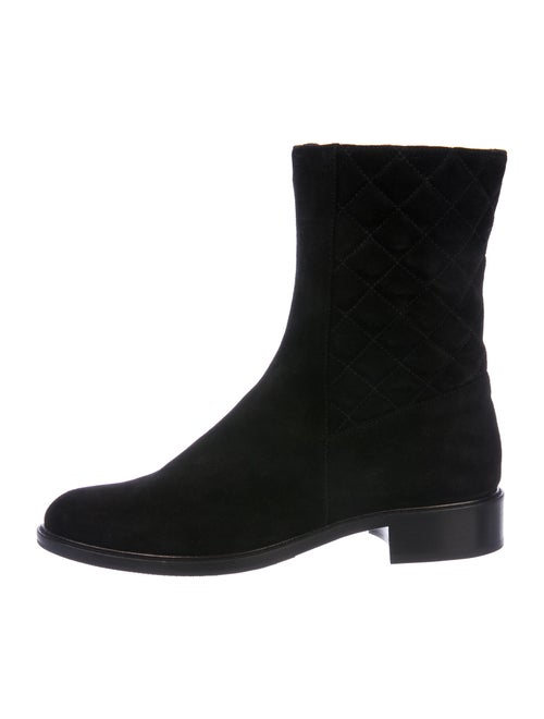 Aquatalia Suede Boots Black