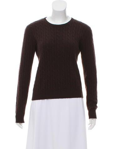 AQUA Rib Knit Sweater None