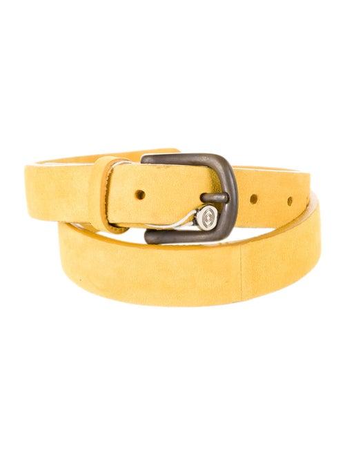 Arjé Suede Hip Belt Yellow
