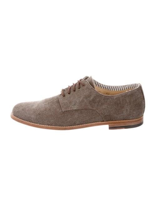 Armando Cabral Canvas Derby Shoes brown