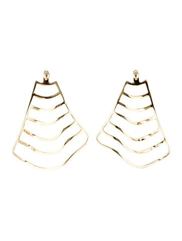 Stripe Chandelier Drop Earrings Arme De L'Amour 7Q3KV
