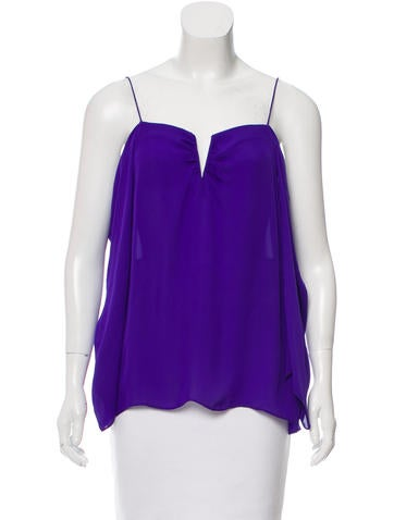 Artelier Silk Cutout Top w/ Tags None