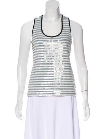 Artelier Embellished Sleeveless Top w/ Tags None