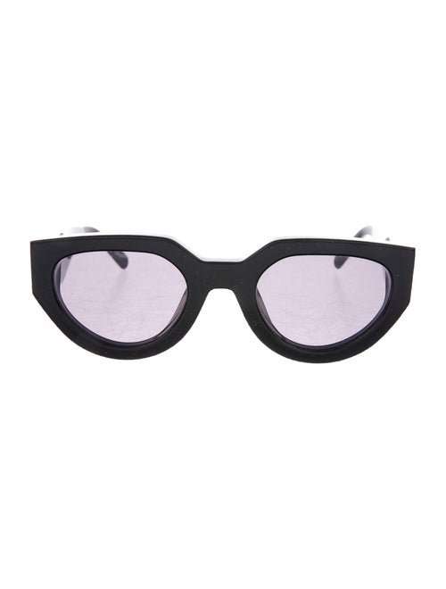 The Arrivals Cat-Eye Tinted Sunglasses Black