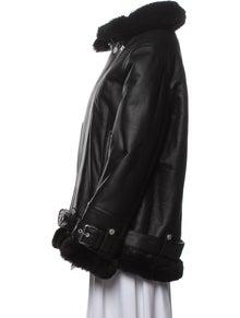 The Arrivals Shearling Fur Jacket