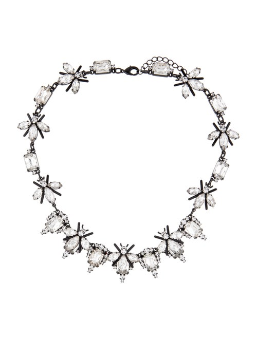 Ashley Williams Fly Crystal Statement Necklace