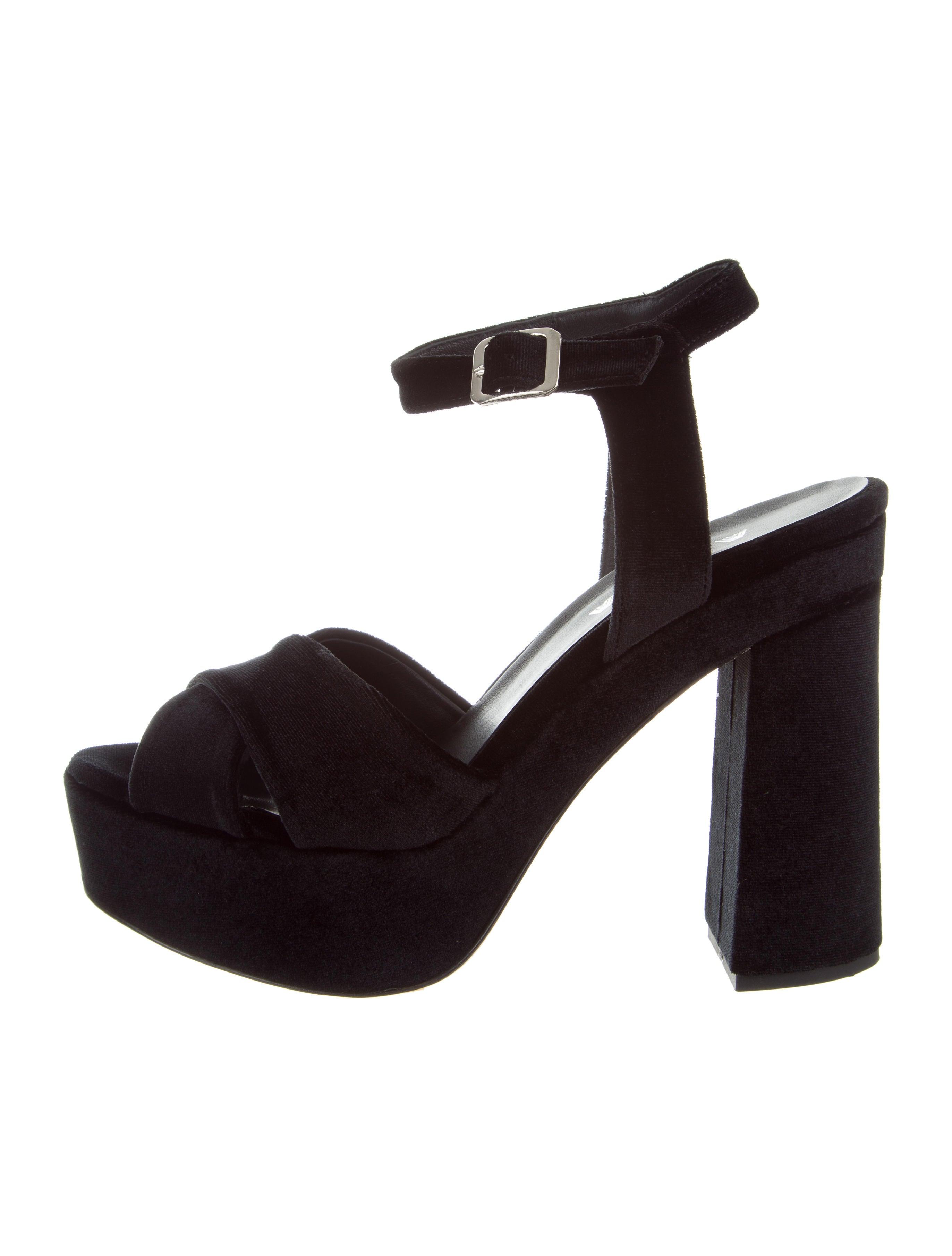 Aska Suede Platform Sandals cheap 100% guaranteed largest supplier cheap online D8Hpp