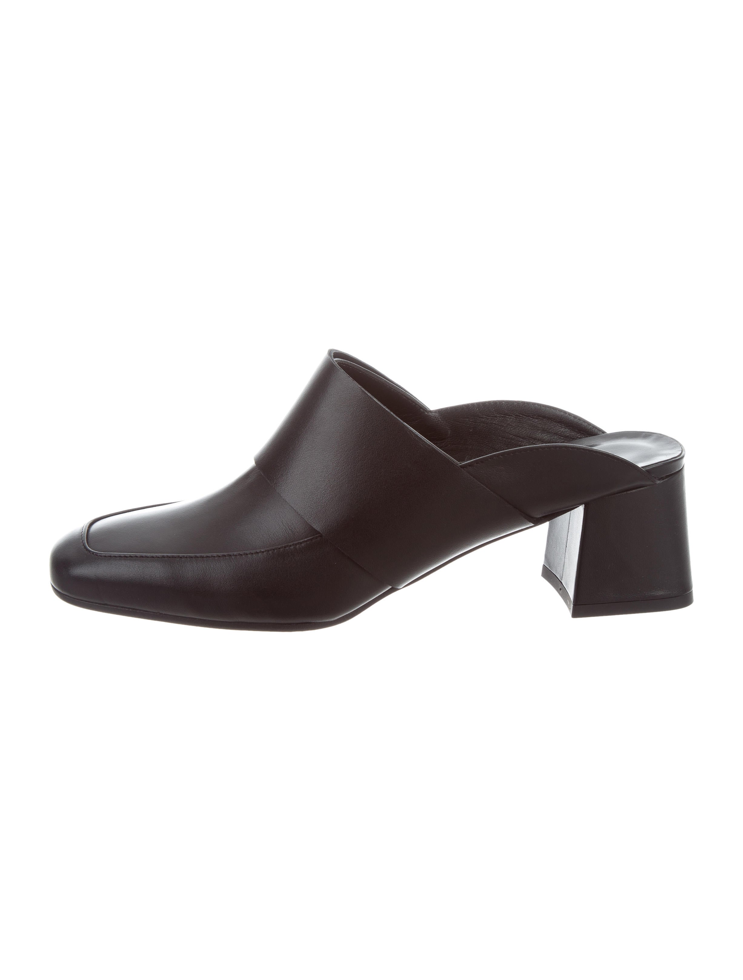 very cheap sale online cheap best Aska Gwynne Leather Mules sale amazing price wCZSjiG82