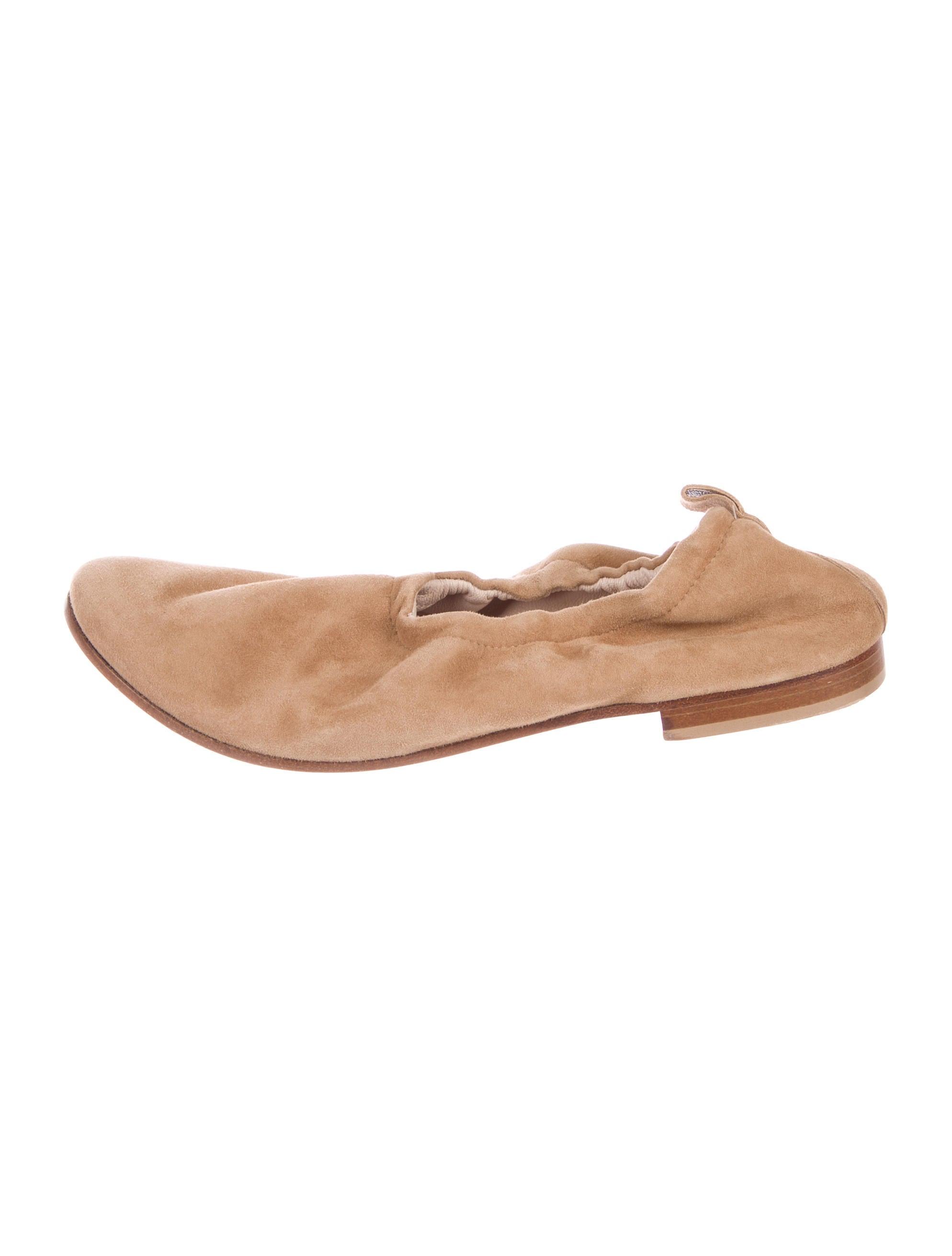buy cheap footlocker finishline Aska Suede Round-Toe Flats free shipping amazon cheap hot sale e1NQgg