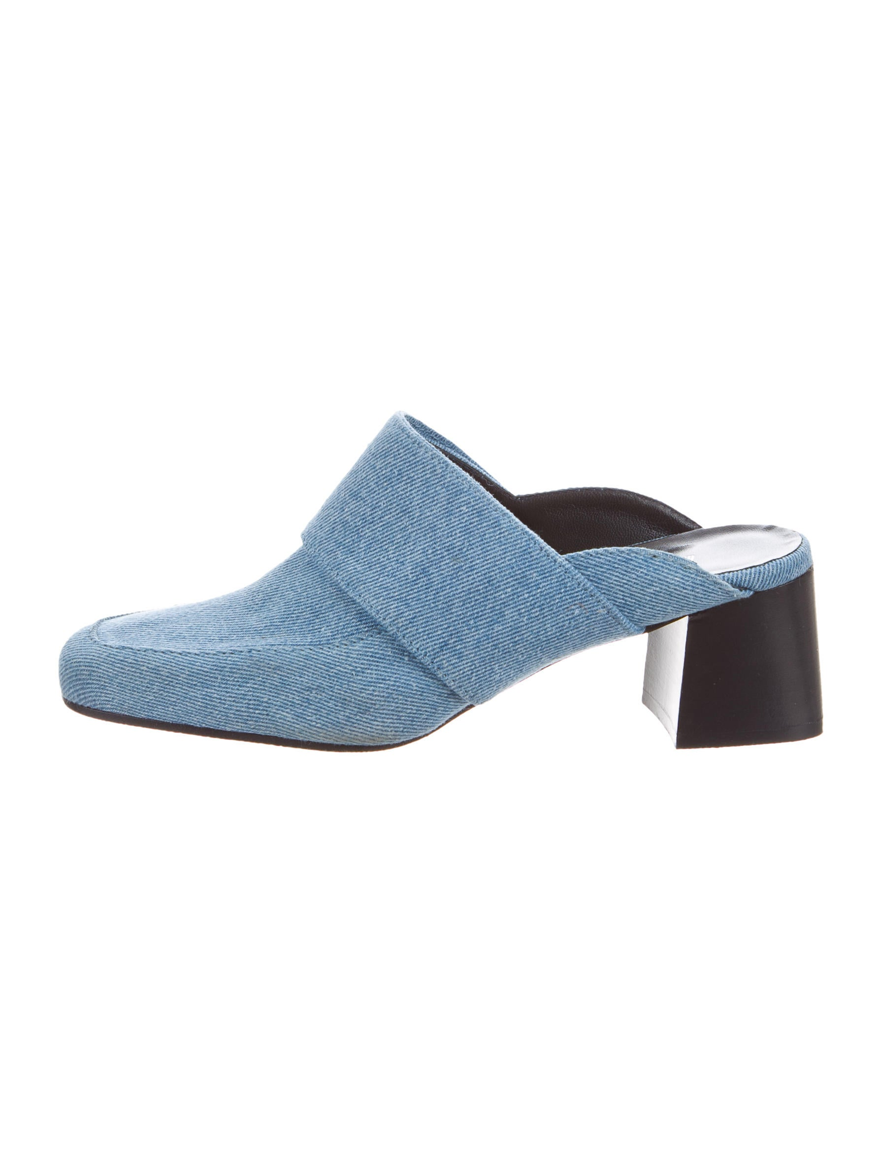 outlet lowest price Aska Denim Square-Toe Mules sale with mastercard cheap exclusive outlet enjoy 4LUG93Y9