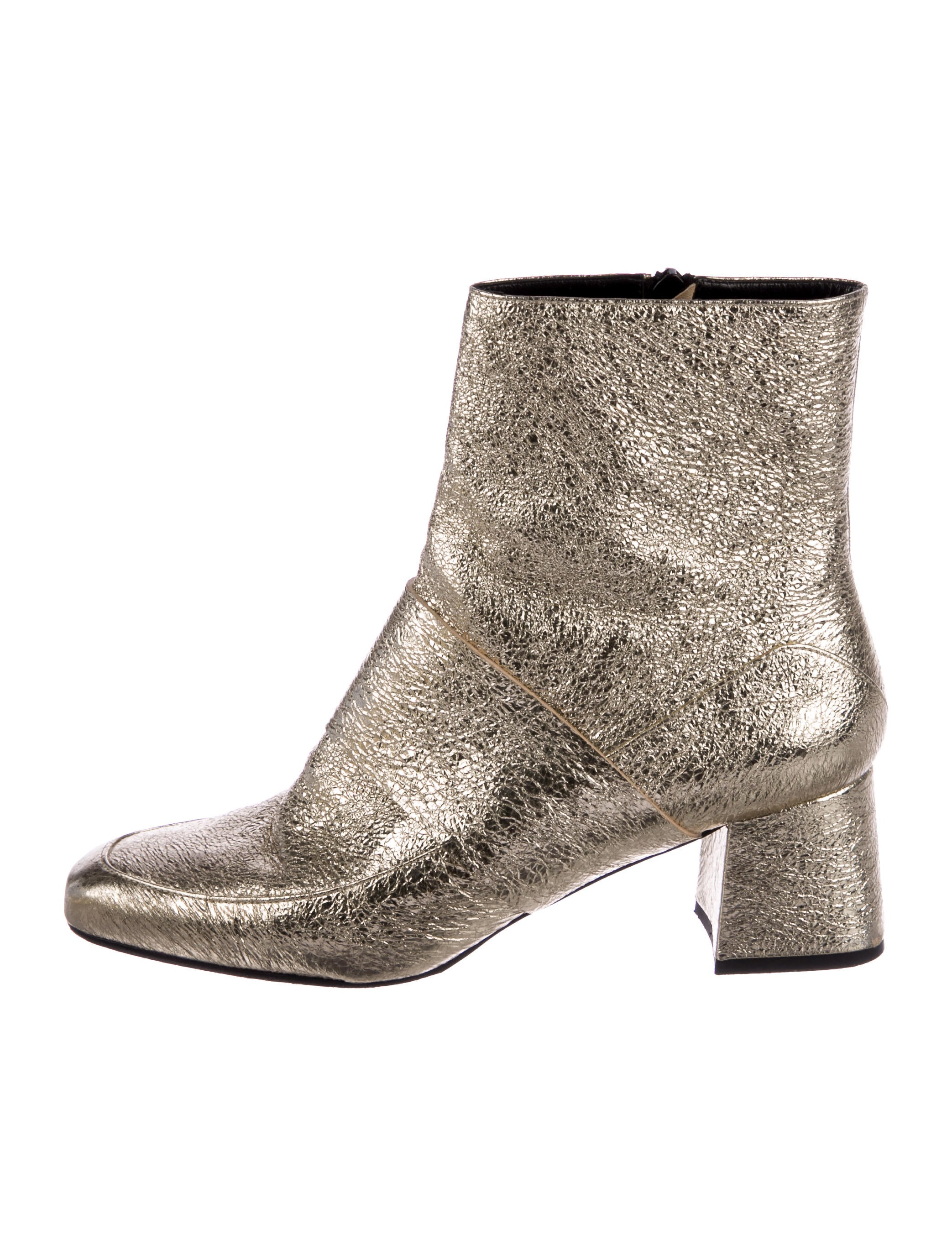 Aska Metallic Square-Toe Ankle Boots footlocker cheap price clearance for nice buy cheap best store to get for sale cheap real classic cheap online xBA62xBZDQ