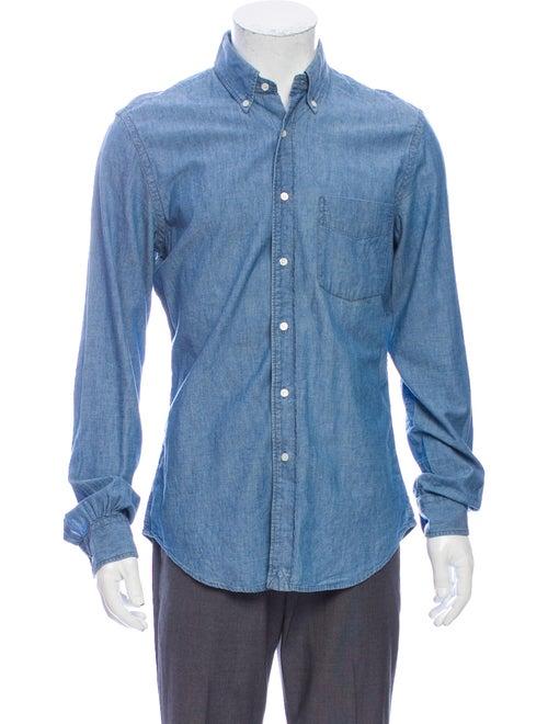 Aspesi Long Sleeve Shirt Blue