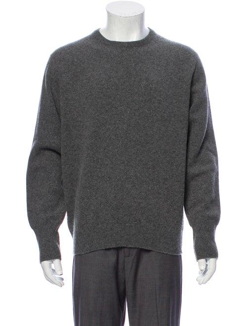 Aspesi Lambswool Crew Neck Pullover Grey