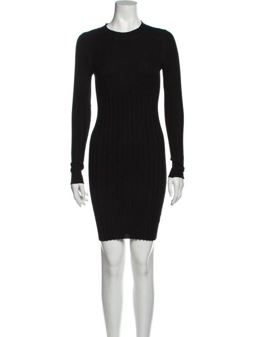 ATM Merino Wool Mini Dress Wool
