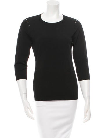 Autumn Cashmere Three-Quarter Sleeve Sweater w/ Tags None