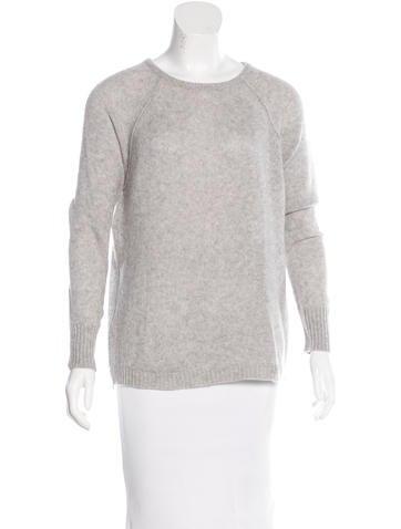 Autumn Cashmere Zip-Accented Cashmere Sweater None