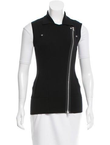 Autumn Cashmere Knit Moto Vest w/ Tags None