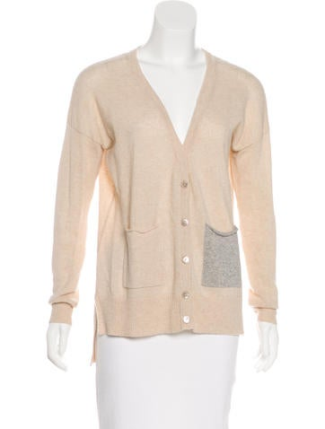 Autumn Cashmere Cashmere Long Sleeve Cardigan None