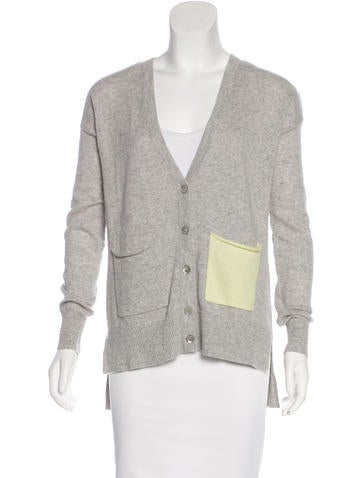 Autumn Cashmere High-Low Cashmere Cardigan w/ Tags None