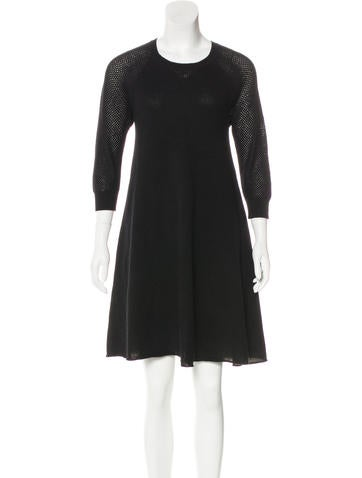 Autumn Cashmere Cashmere Knee-Length Dress None