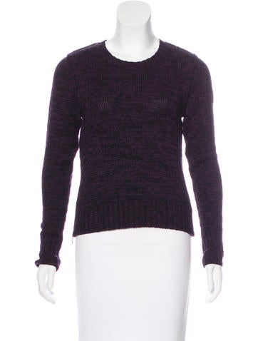 Autumn Cashmere Long Sleeve Knit Sweater None