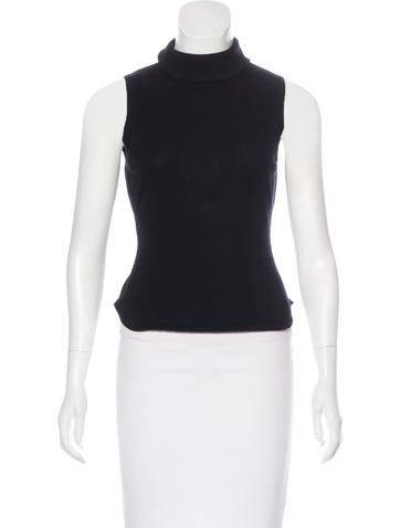 Autumn Cashmere Cashmere Sleeveless Top None