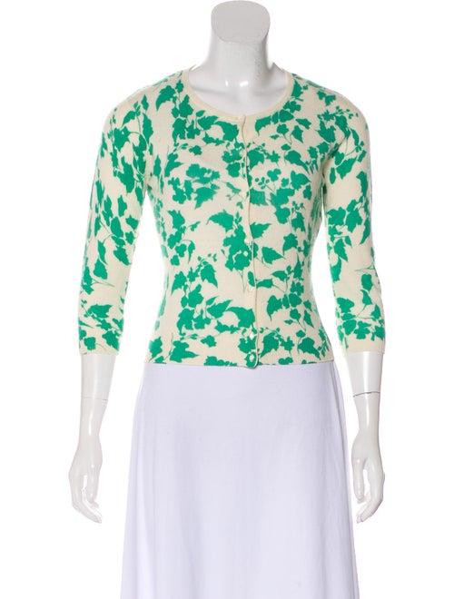 Autumn Cashmere Cashmere Button-Up Cardigan green