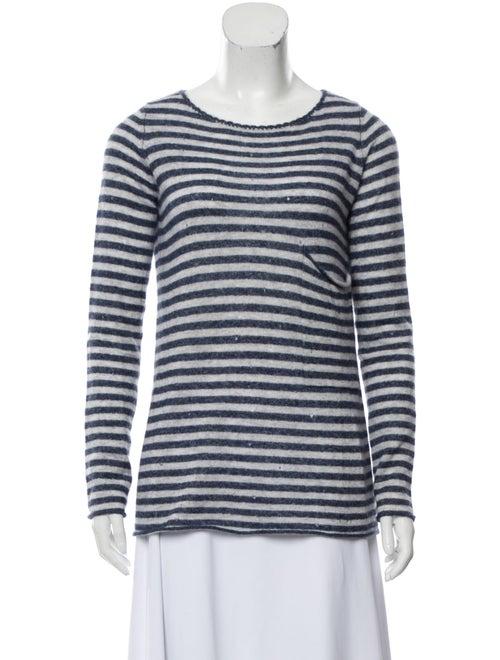 Autumn Cashmere Cashmere Bateau Neckline Sweater B