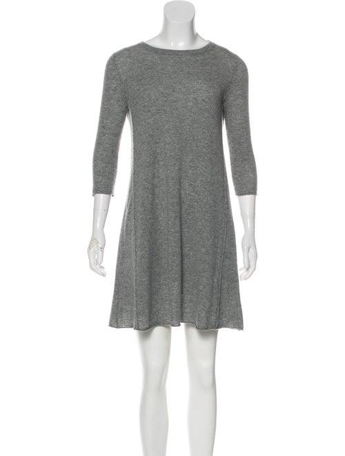 Autumn Cashmere Cashmere Sweater Dress Grey