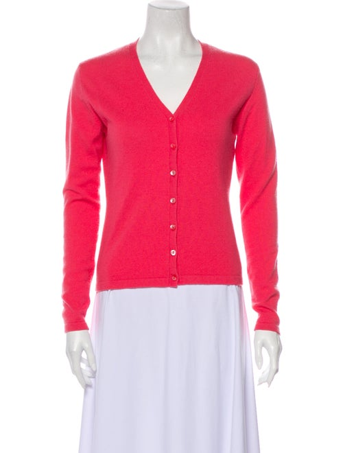 Autumn Cashmere Cashmere V-Neck Sweater Pink