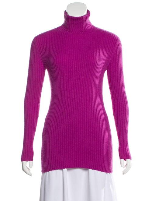 Autumn Cashmere Cashmere Turtleneck Sweater Purple