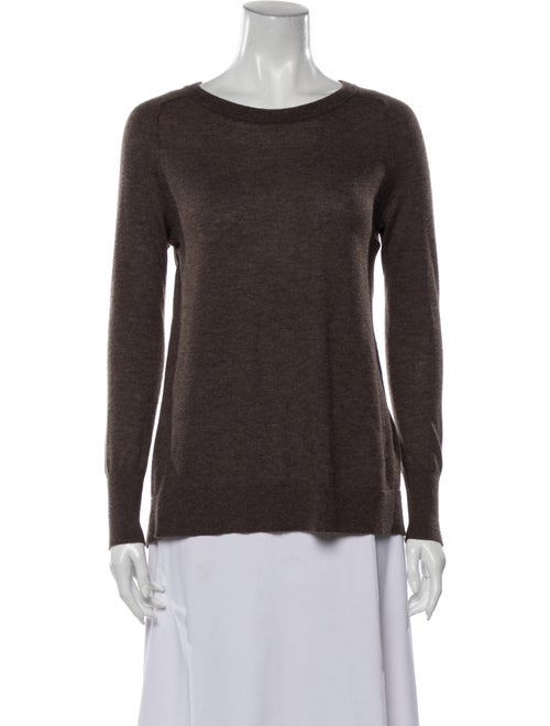 Autumn Cashmere Cashmere Crew Neck Sweater Brown