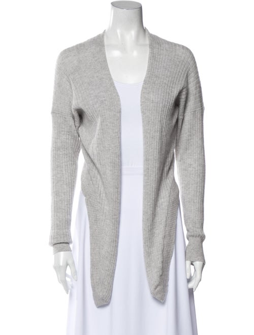 Autumn Cashmere Cashmere Open Front Sweater Grey
