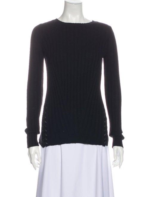 Autumn Cashmere Crew Neck Sweater Black