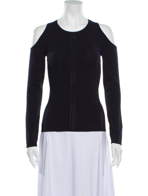 Autumn Cashmere Scoop Neck Sweater Blue