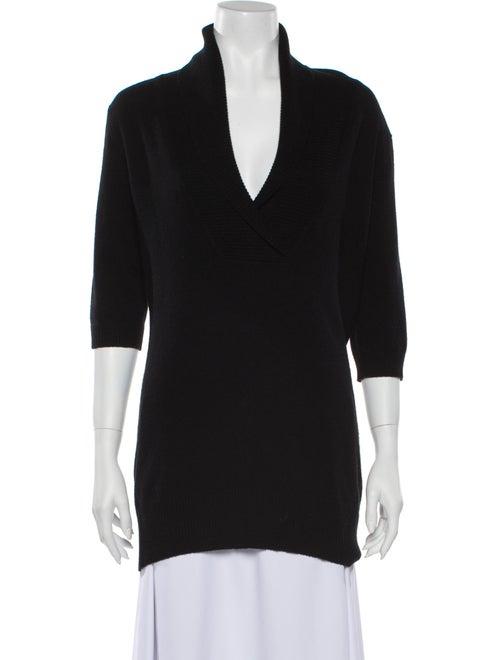 Autumn Cashmere Cashmere V-Neck Sweater Black