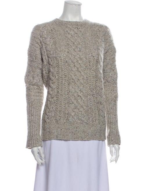 Autumn Cashmere Cashmere Crew Neck Sweater Grey