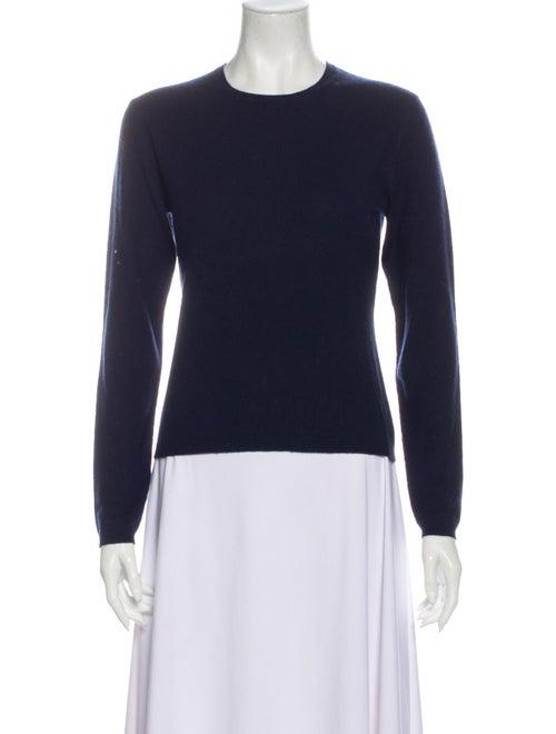 Autumn Cashmere Cashmere Crew Neck Sweater Blue