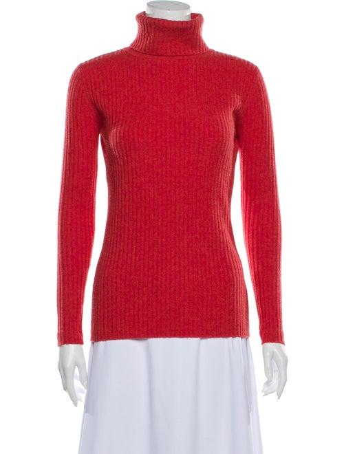 Autumn Cashmere Cashmere Turtleneck Sweater Red