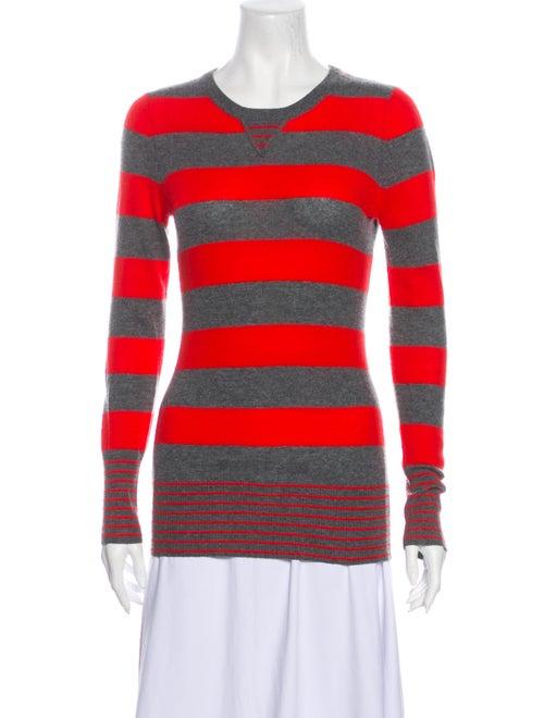 Autumn Cashmere Cashmere Striped Sweater Grey