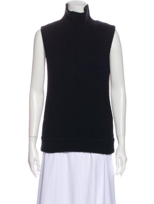 Autumn Cashmere Cashmere Turtleneck Sweater Black