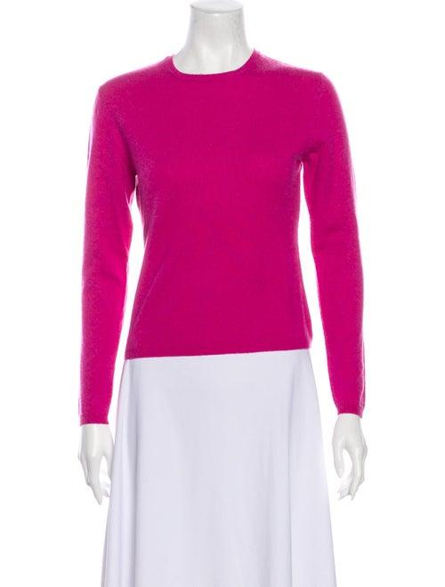 Autumn Cashmere Cashmere Crew Neck Sweater Pink