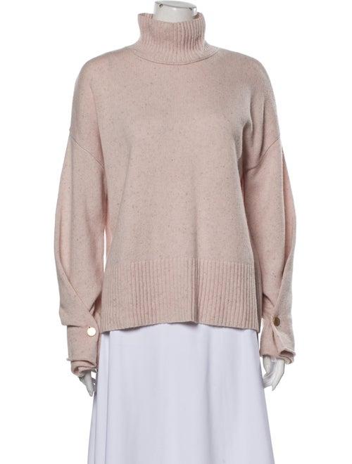 Autumn Cashmere Cashmere Turtleneck Sweater Pink