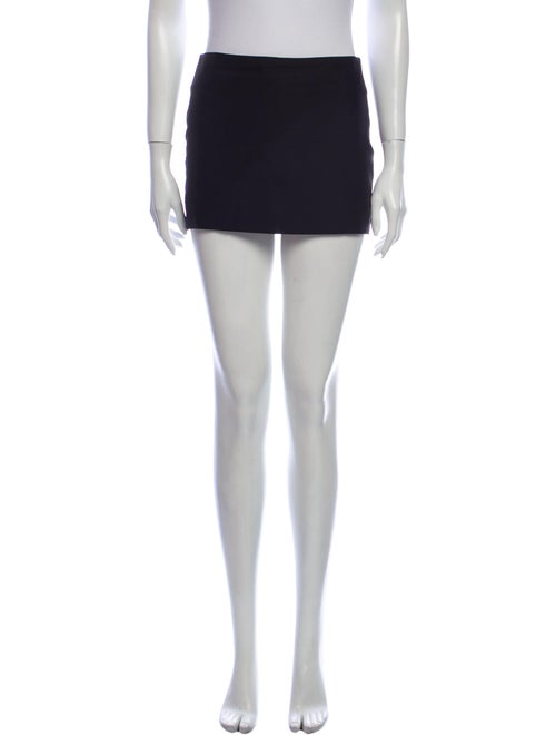 Gauge81 Silk Mini Skirt Black