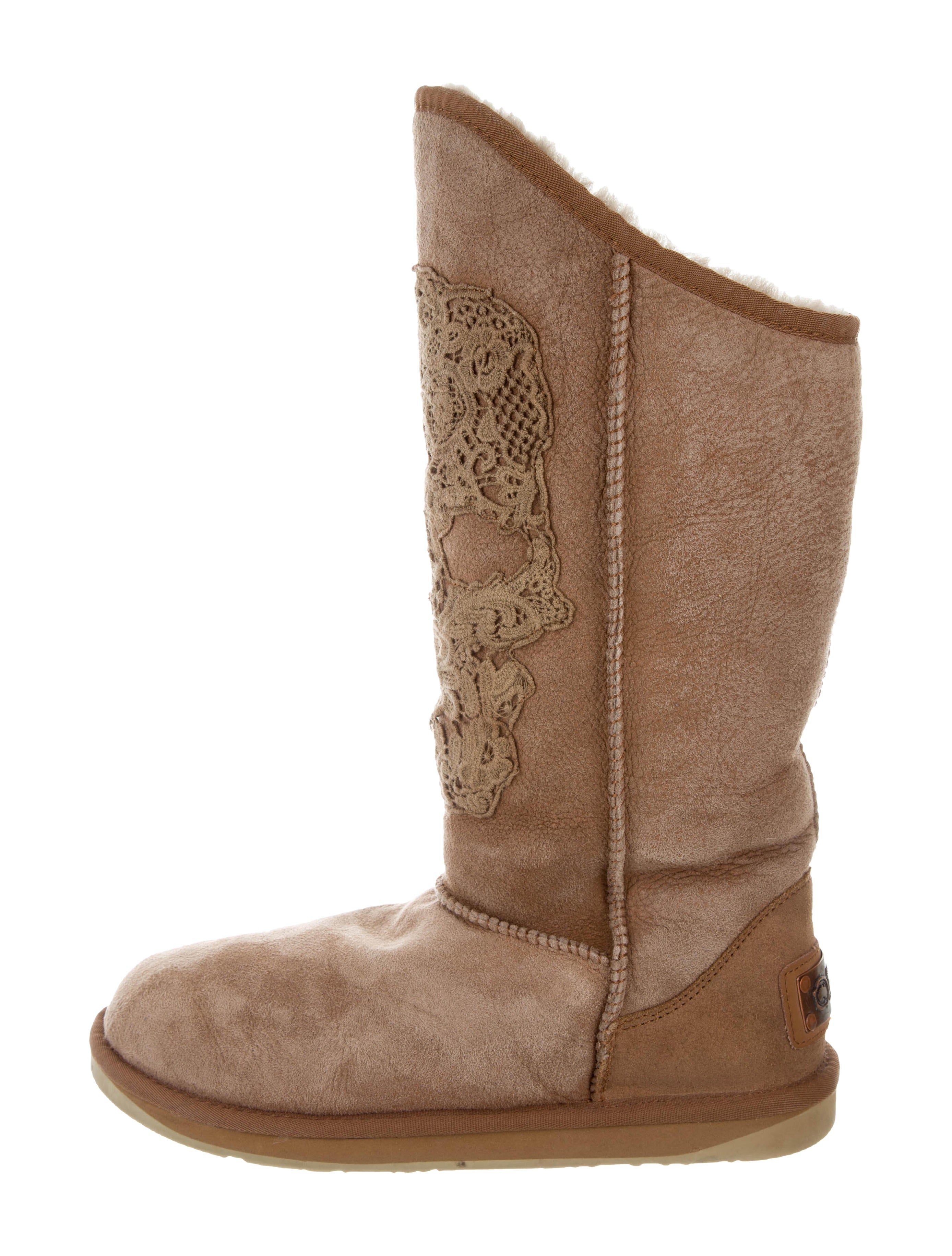 Australia Luxe Collective Embroidered Suede Boots outlet reliable discount choice i7oaQ4sHgX