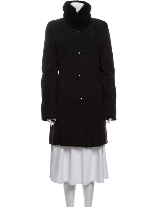 Autunno Shearling Coat Black