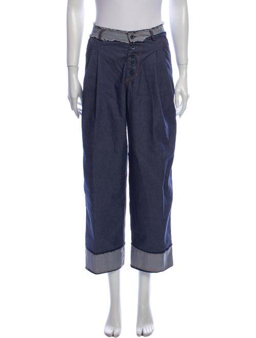 Aviu High-Rise Wide Leg Jeans Blue