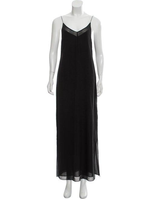 Alexanderwang.T Maxi Slip Dress Black